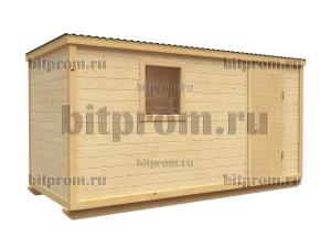 Бытовка Б-01 (5м) брусовая