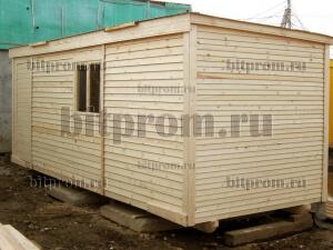 Б-01 (6м) ДВП - популярная деревянная бытовка