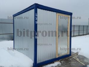 Компактный блок-контейнер БК-011 ДВП