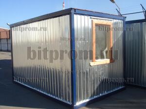 Блок-контейнер БК-012 ДВП с тамбуром