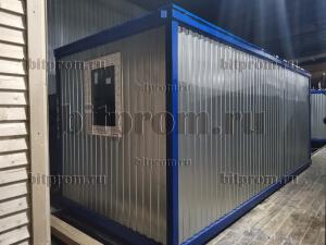 Блок-контейнер БК-01 ЛДСП (5,85 м) с окном ПВХ