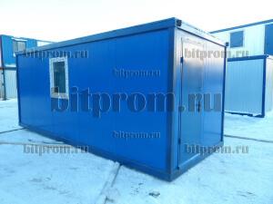 Блок-контейнер БК-01 СП из сэндвич-панелей
