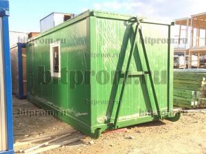 Блок-контейнер БК-022 СП на санях