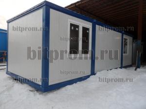 Блок-контейнер БК-024 СП из сэндвич-панелей