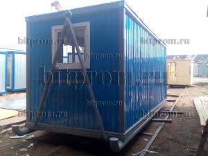 Блок-контейнер БК-030 на санях для северных условий