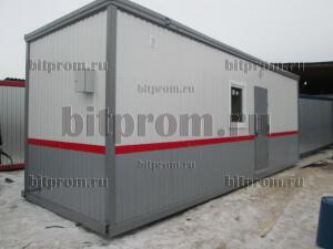 Блок-контейнер БК-031 с внутренней отделкой ЛДСП