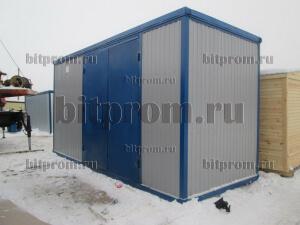 Блок-контейнер БК-032 с воротами
