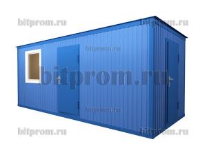 БК-036 ДВП - блок-контейнер с кладовкой