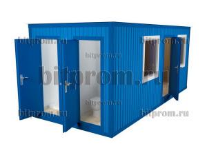 БК-038 МДФ - блок-контейнер с туалетом и душем