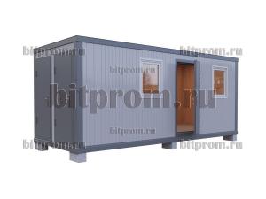Блок-контейнер БК-038 СП с туалетом и душем