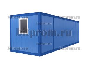 Удлинённый блок-контейнер БК-041 СП (8м) из сэндвич-панелей