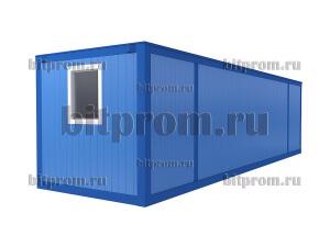 Удлинённый блок-контейнер БК-042 СП (9м) из сэндвич-панелей