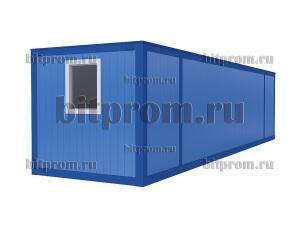 Удлинённый блок-контейнер БК-043 СП (10м) из сэндвич-панелей