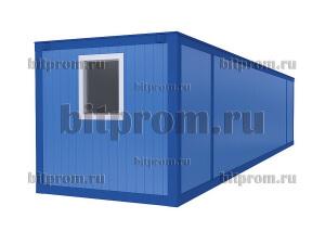 Удлинённый блок-контейнер БК-044 СП (11м) из сэндвич-панелей