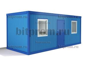 Блок-контейнер БК-04 СП из сэндвич-панелей