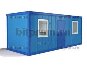 Блок-контейнер БК-04 СП (М)  из сэндвич-панелей