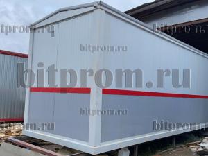 Блок-контейнер БК-056 СП (вагон РЖД) из сэндвич-панелей