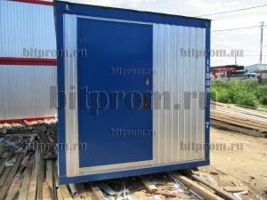 Оцинкованный блок-контейнер БК-06 для оборудования