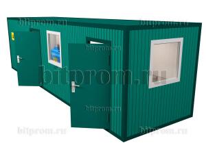 Блок-контейнер для шиномонтажа БКА-01 ПВХ (9м)