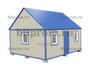 БКМД-01 (6м) ПВХ - небольшой модульный домик из профлиста