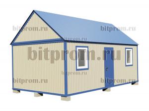 БКМД-02 (7м) ПВХ - модульный домик из профлиста