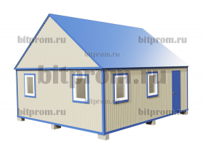 БКМД-03 (7м) ПВХ - модульный домик из профлиста