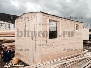 Баня БЛ-01 (4м) -  компактная деревянная баня