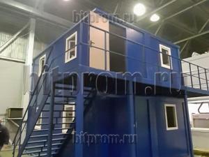 Модуль БМ-015 СП из четырёх блок-контейнеров БК-00 СП