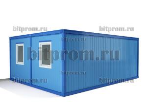 Модуль БМ-01 СП из двух блок-контейнеров БК-00 СП