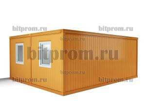 Модуль БМ-08 СП из двух блок-контейнеров БК-00 СП с внутренней перегородкой
