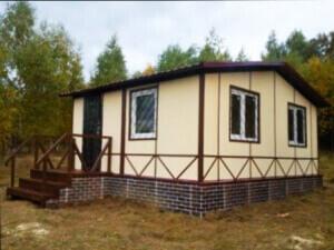 Небольшой садовый домик ДС-01 для дачного участка