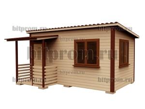 Мини-домик для дачи ДС-03