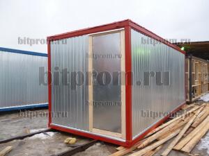 ЭБК-01 ДВП - универсальный металлический блок-контейнер