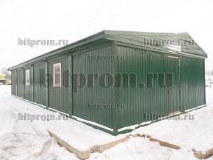 Модульное здание М-02 из 6 блок-контейнеров (Агрофирма «Пречистое», Истринский р-н)