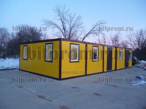 Модульное здание М-04 из 5 блок-контейнеров