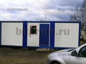 Модульное здание М-18 СП из 3-х блок-контейнеров