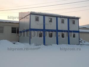 Модульное здание М-19 из 8 блок-контейнеров БК-00