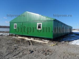 Модульное здание М-21 из 16 блок-контейнеров