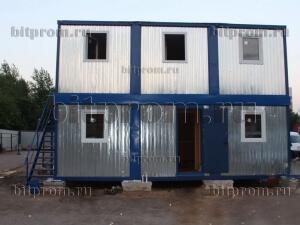 Модульное здание М-25 из 6 блок-контейнеров