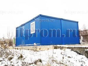 Модульное здание М-29 из 2-х блок-контейнеров