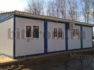 Модульное здание М-33 из 8 блок-контейнеров