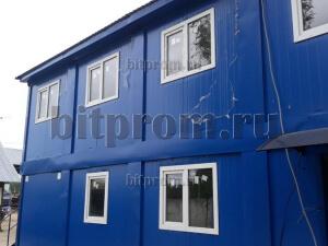 Модульное здание М-51 из 10 блок-контейнеров СП