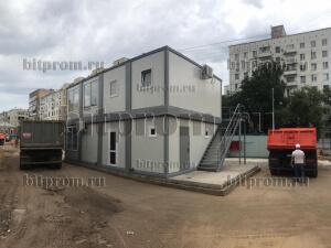 Модульное здание М-52 из 8 блок-контейнеров
