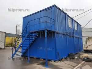 Модульное здание М-57 из 8 блок-контейнеров