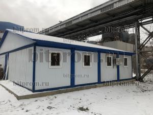 Модульное здание М-58 из 8 блок-контейнеров
