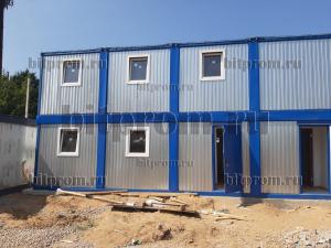 Модульное здание М-62 из 8 блок-контейнеров