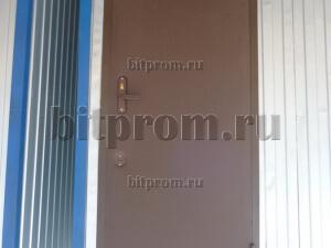 Металлическая утепленная дверь