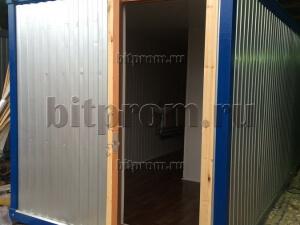 СБК-04 – четырехкабинный модульный вагон-туалет