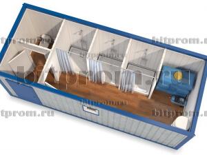 СБК-09 – сантехнический модуль с насосной станцией