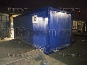 СБК-13 СП сантехнический вагон с женским туалетом